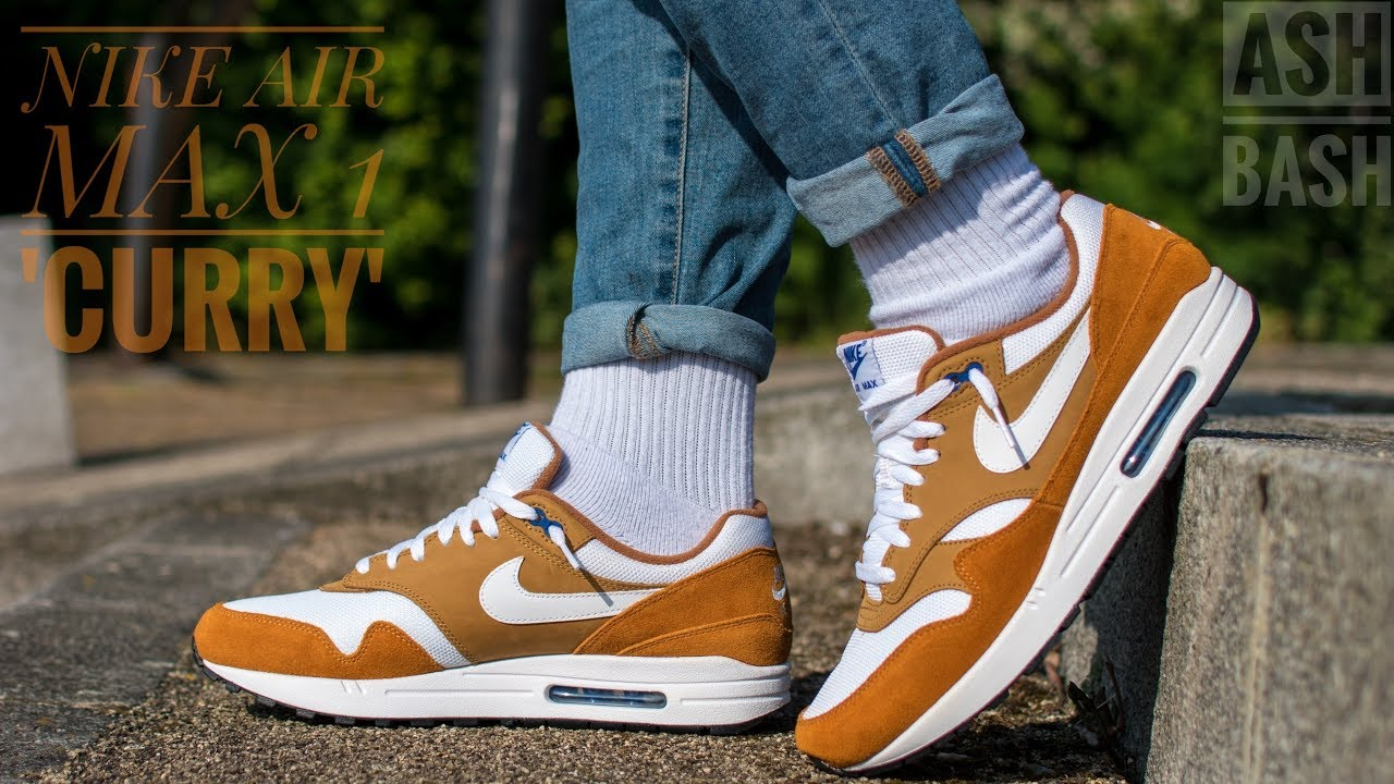 Review On Foot | Nike Air Max 1 'Curry' | Ash Bash