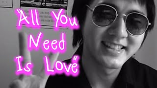 Video John Lennon & The Beatles - All You Need Is Love - Acoustic Cover download MP3, 3GP, MP4, WEBM, AVI, FLV Juli 2018