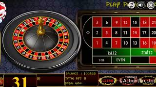 New method to win roulette- never loose at roulette
