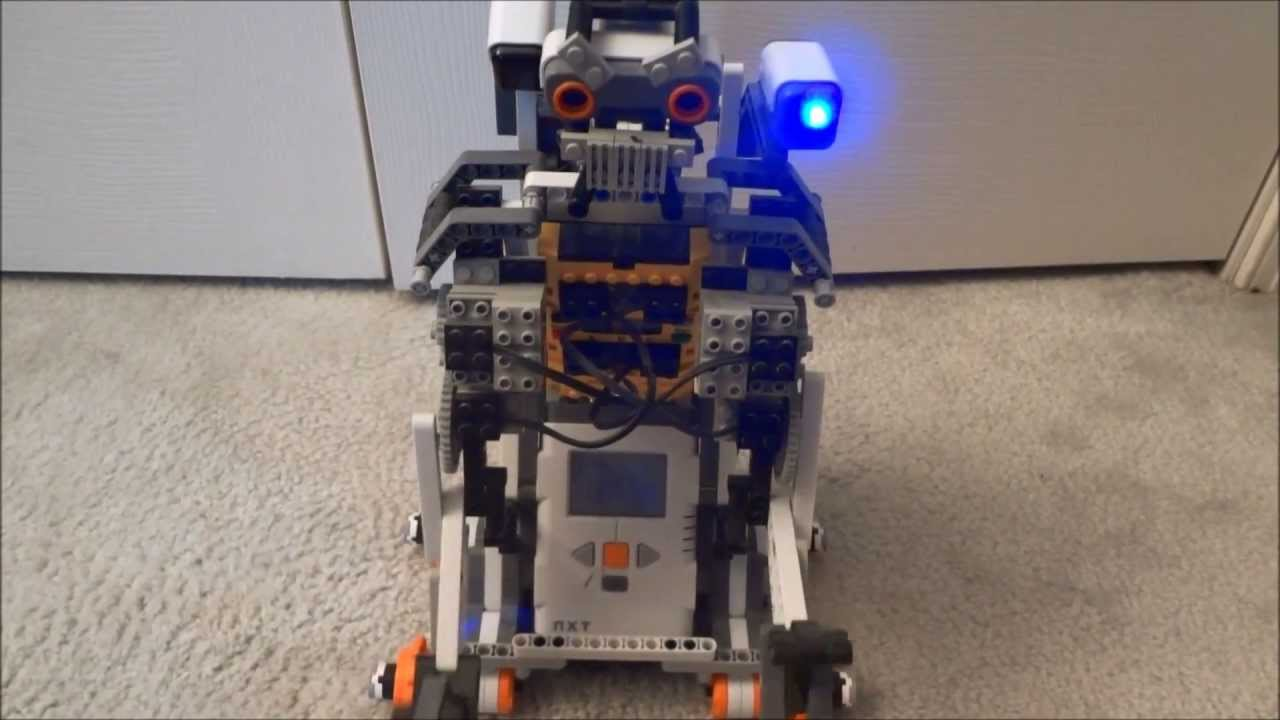 Lego Johnny 5 Instructions By Matt De Lanoy Pinterest Five Tumblr Mindstorms Youtube