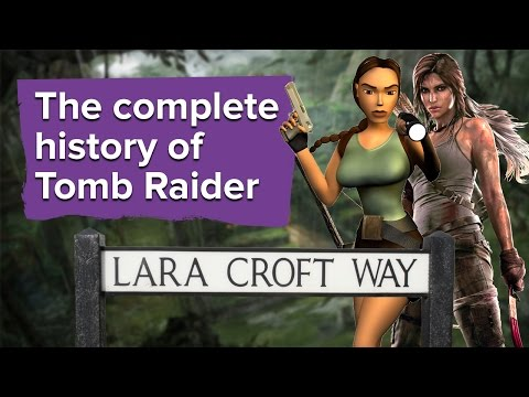 I miss getting stuck in Tomb Raider games • Eurogamer net