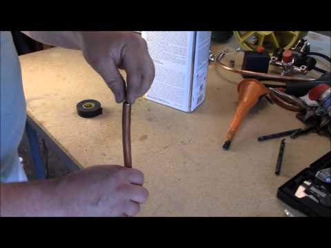 How To Bend Tube Without A Bending Tool No Kink Diy Air