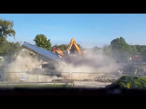 Outwood Grange - A Block - Demolition