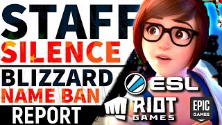 ESL & Riot SILENCE Staff On China, Blizz's Strange Ban Situation, Halo 5 Dev & Payday 3 Miracle