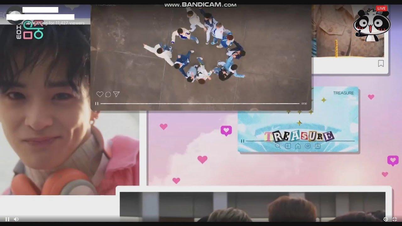 Treasure 트레저 Intro On Music Core 20210116 Youtube