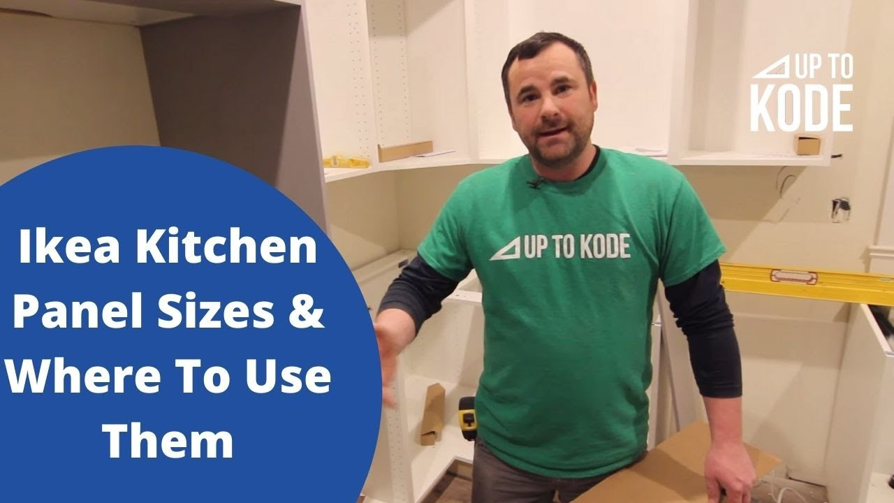 Plan An Ikea Kitchen Different Panel Sizes And Where To Use Them Youtube