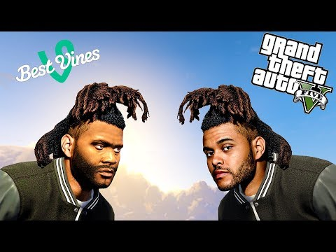 Grand Theft Auto V: VINES # 2 (Best Vine Compilation, The Weeknd, Zoey 101, Harry Potter, Future)