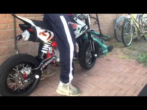 pit bike motard mobster 140cc youtube. Black Bedroom Furniture Sets. Home Design Ideas