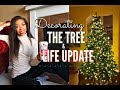 DECORATING THE CHRISTMAS TREE + LIFE UPDATE Q&A: Dating,  Confidence, Moving Out?   VLOGMAS DAY 10