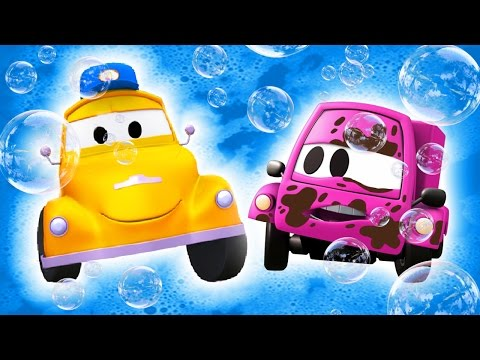 Thumbnail: Tom the Tow Truck's Car Wash and BABY SUZY | TRUCK cartoons for KIDS
