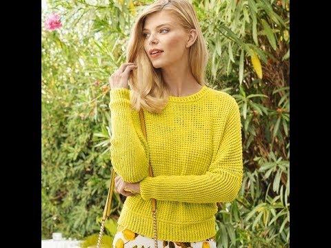 Модные Свитера, Связанные Спицами - 2019 / Trendy Knit Knit Sweaters