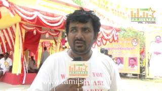 Magesh At Veera Devan Movie Shooting Spot