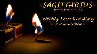 SAGITTARIUS - AUGUST 19-25 2018 LOVE TAROT READING