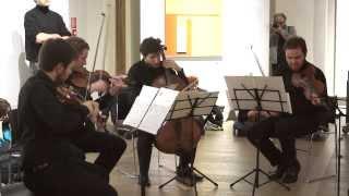 mdi ensemble_Cornelius Cardew: First movement for string quartet (1961)