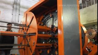 видео Сваенавивочная машина для навивки и сварки каркасов буронабивных свай