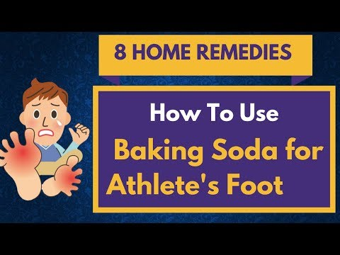 Home Remedies BAKING SODA for Athlete's Foot – TOP 8 Remedies