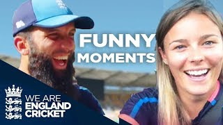 """🤣England Cricket's Funniest """"Off The Field"""" Moments!"""