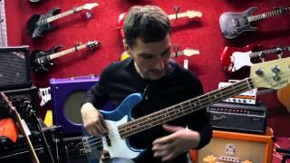 Борис Суздалев дает уроки игры на бас-гитаре. Урок №4: Однооктавные гаммы