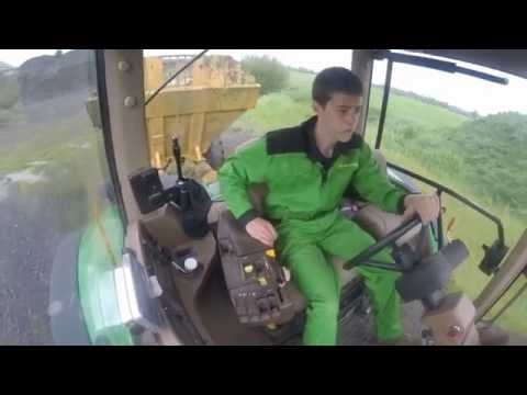 Dumping Waste Bales | John Deere 7920