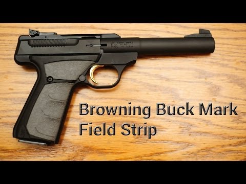 How To: Field Strip Browning Buck Mark
