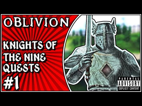 Oblivion Knights Of The Nine Quest: Pilgrimage (#1) Gameplay