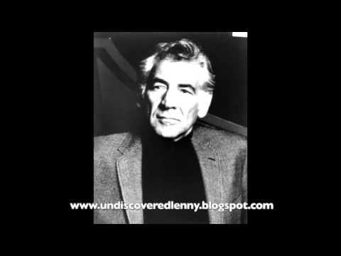 Leonard Bernstein: The Lost Interview Part 1