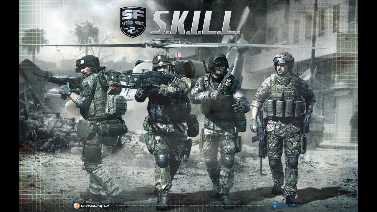 Skill 2 Special Forces Bull The Great Gameplay