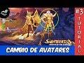 Una breve y consisa explicación de como cambiar de avatar en el juego Saint Seiya Awakening [KotZ]