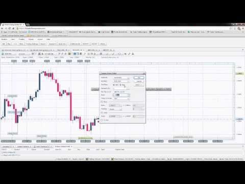 Using FXCM platform to enter trades