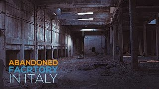 Exploring an Abandoned Factory in Italy! I A7s + Ronin M