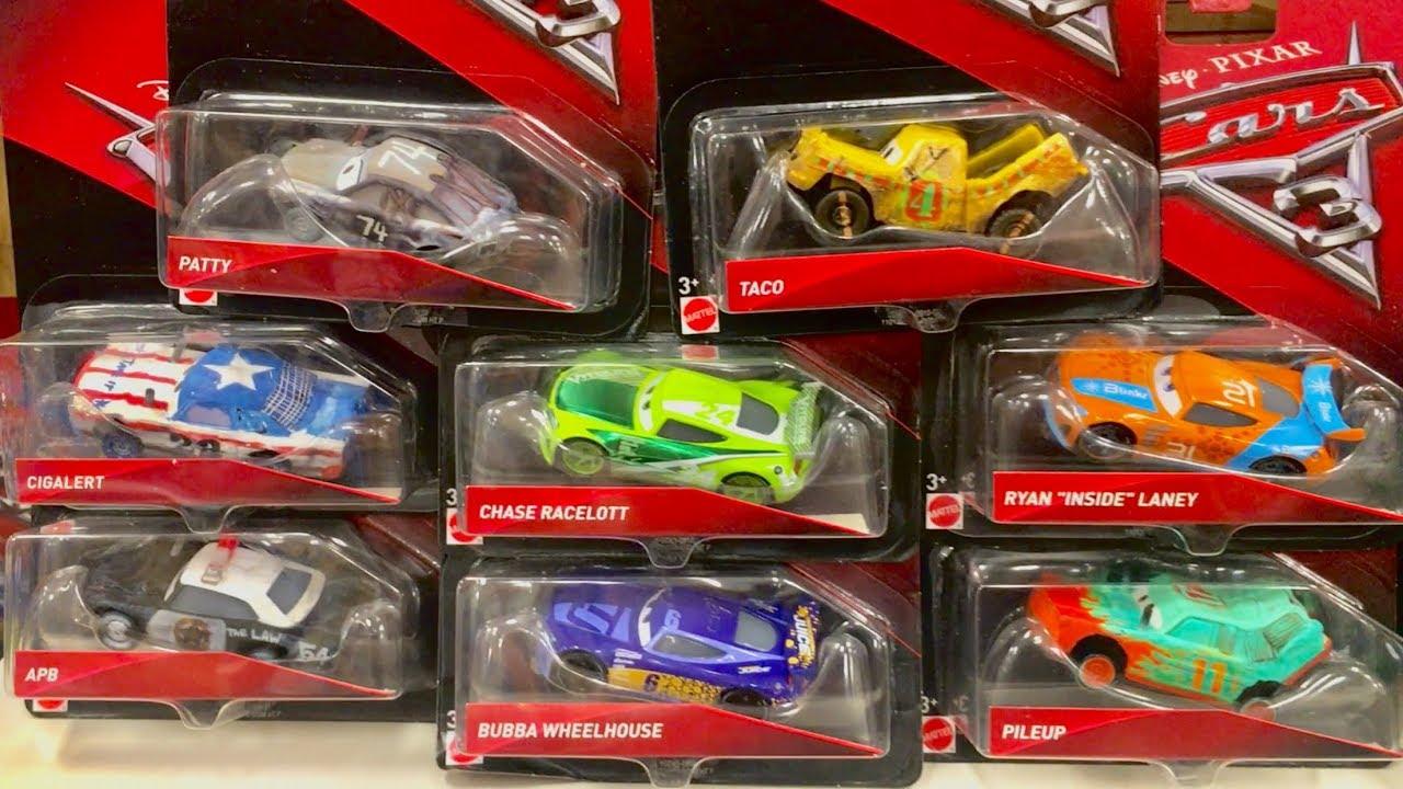 Cars 3 Toys Hunt Chase Racelott Ryan Inside Laney Pileup