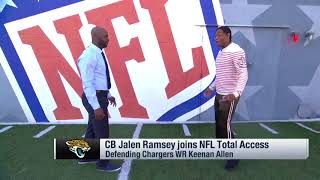 Jalen Ramsey Explains His Approach to Covering Receivers