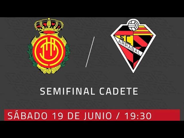 RCD Mallorca - Penya Arrabal segunda semifinal Cadet Campionat de Mallorca | RCD Mallorca
