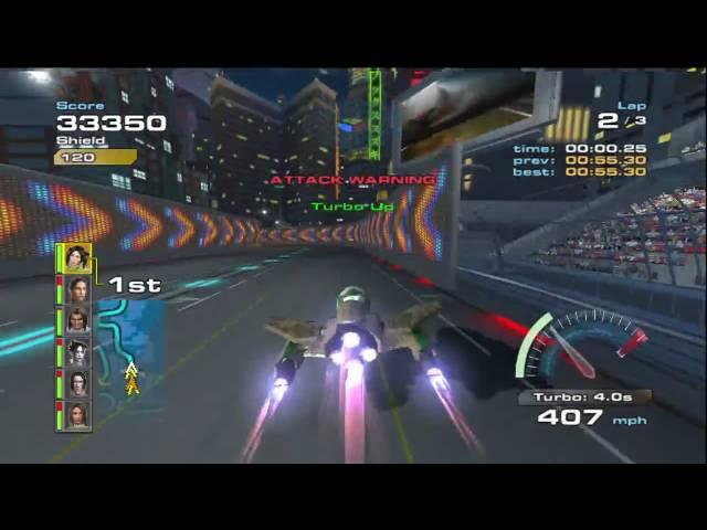 Quantum Redshift Gameplay - Fuusoku City