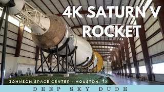 4K SATURN V ROCKET - JOHNSON SPACE CENTER