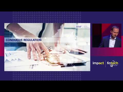 Impact fintech'17 : Marek Chrzanowski, KNF Polish Financial Supervision Authority