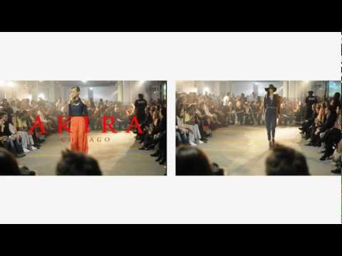 Akira Hall of Mirrors Fashion Show