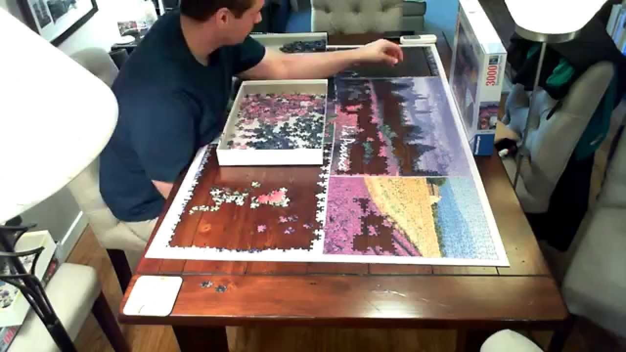 time lapse puzzle provence ravensburger 3000 pieces youtube