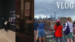 [Vlog] 뉴욕 일상 브이로그 | 8월 뉴욕 레스토랑…