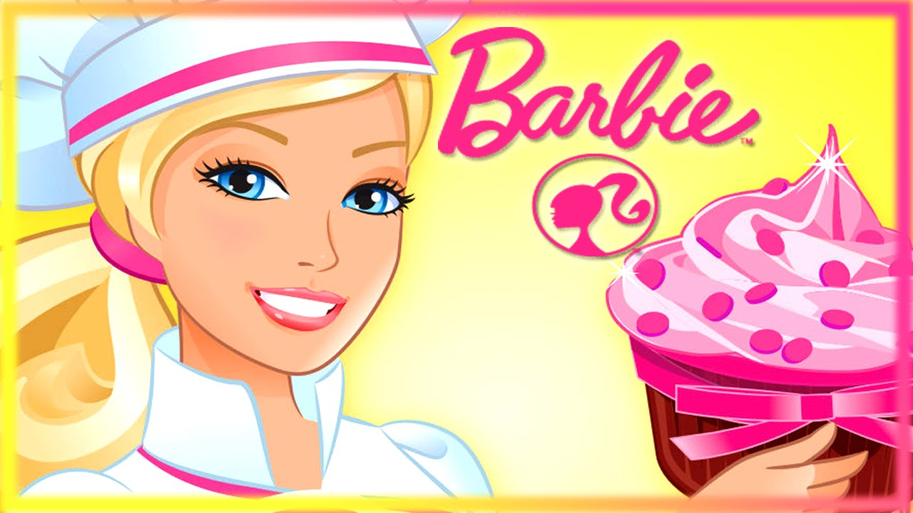 Barbie Best Job Ever Pastry Chef Cooking Game For Girls