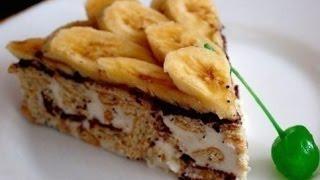 Торт без выпечки из печенья - просто и вкусно