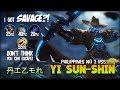 Only MANIAC Or SAVAGE Underrated Deadly Marksman 丹工乙モれ Philp. No 3 YSS  Mobile Legends