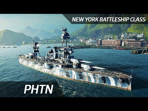 Stupid lost New York (World of Warships) - Play with Noob