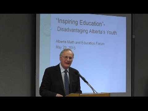 Alberta Math & Education Forum - Part 2