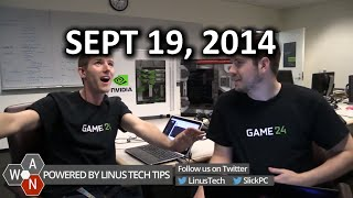 The WAN Show - GTX 980 & 970 Released & Microsoft buys Minecraft!  - September 19, 2014