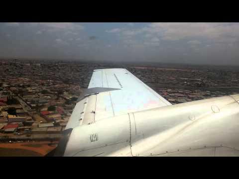 Luanda Angola Landing