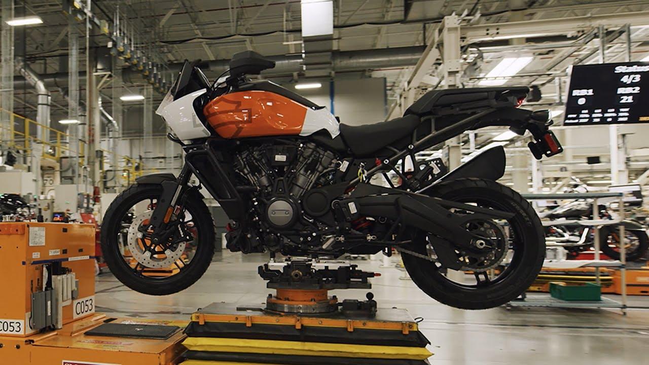 Asi se fabrica la Harley-Davidson Pan America