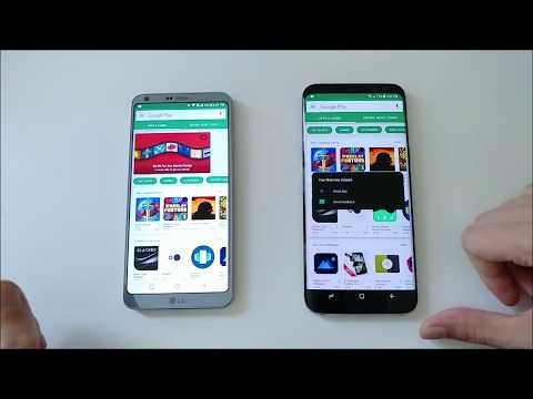 Real World Speed Test LG G6 VS Samsung Galaxy S8 Plus