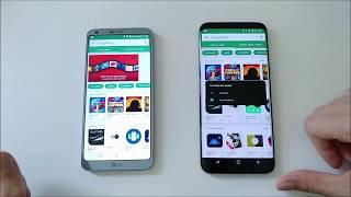 Real World Speed Test LG G6 VS Samsung Galaxy S8 Plus