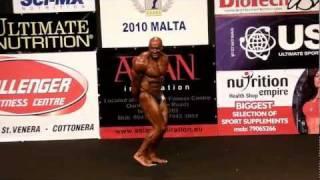 Andrzej Brzezinski - Competitor No 27 - Prejudging - Over 50 - NABBA World 2010